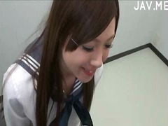 japanees, bj, uniform, amateur, oraal
