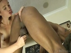 Brutal guy sucks the strap-on of his new girlfriend jodi taylor
