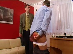 spanking, hardcore, gay, office, domination