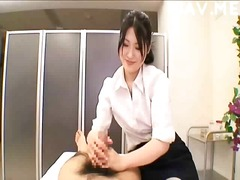 asian, handjob, cumshot, massage, japanese