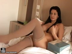 aletta ocean,  softcore, stockings, tits, aletta ocean, big, stocking