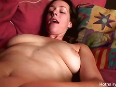 August summer hairy cunt toying