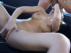 Susy doesn't wear panties 'cause she can't wait to fuck