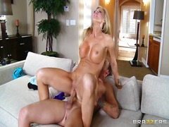 blonde, orgasm, mom, brazzers, doggy, milf, pornstar