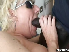 Pt older wife in a wife underware and bbc