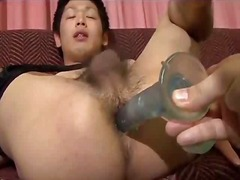 toys, japanese, fingering, ass, asian, gay, dildo