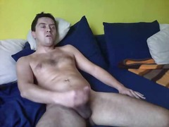 masturbação, webcam, gay, madura, a sós