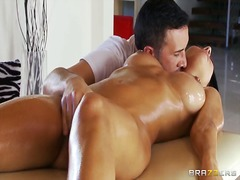 oil, kissing, boobs, foreplay, fingering, shaved
