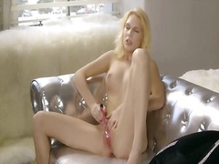 princess, blonde, masturbation, toys, handjob, orgasm, toy
