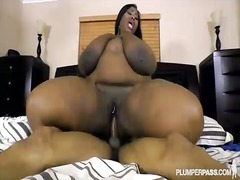 bbc, bbw, chubby, chunky, black, ebony, riding