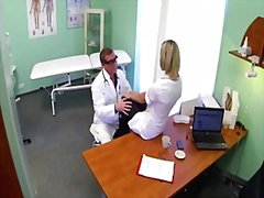Doctor fucks his assistant