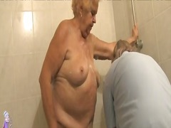 mom, older, old, lady, hungry, pussy