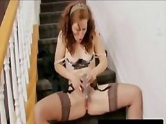 mother, vibrator, sextoys, mom, wife, masturbation, solo, milf, masterbate, toys, xxxcupid.com, redhead, orgasm,