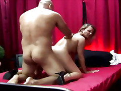 blond, prostituert, doggy style, cumshot, reality, hore