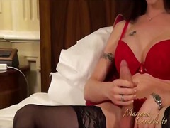 Masturbation red passion