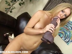 europeans, brutal, masturbation, insertion, blonde, solo, dildo