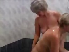 treesome, lick, oral, threesome, mom, pussy, russian