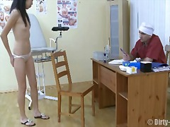pussy, hospital, fetish, exam, doctor, examination, medical, cervix, clinic, vaginal, open, gyno, asian, shot
