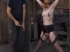 rough, slavery, extreme, scene, humiliation, discipline, girls, slave, domination