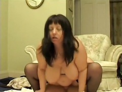 Fucking wife with a condom