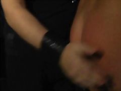 Hot brunette slave girl,bounded,whipped and slapped in bdsm session