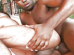 horny, hard, black, outdoor, beefy, fucking, gay, butt, hunk, daddy, muscle