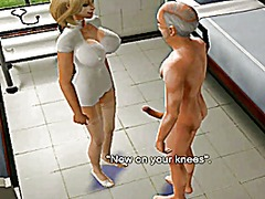 Sims 2 nurse brown part#2 animation uniform fetish