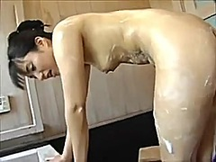 Lascivious lady with onry oral-stimulation