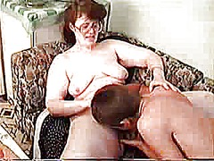 mom, big, boy, russian, tits