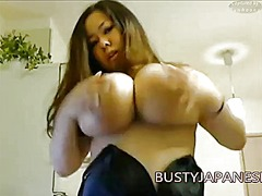 natural, big, giant, japanese, busty, webcam, tits