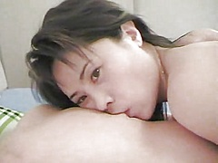 wife, oral, foreplay, homemade, nipples, asian, job, lick